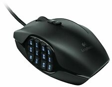Logitech G600 MMO Gaming Mouse, RGB Backlit, 20 Programmable Buttons New