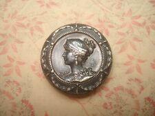 Ancien BOUTON  Fin XIX ème Signé LG / Antique Button