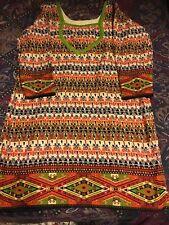 Indian/Pakistani crepe kameez & churidaar suit. Nice Combination of colors