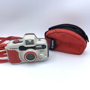 Canon 35 MM Sure Shot WP-1 Weatherproof Underwater Camera w/Case