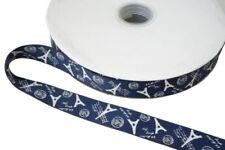 Printed Unit Blue Ribbons & Ribboncraft