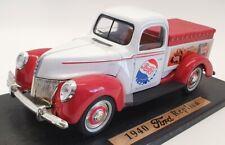 Golden Wheel 1/18 Scale Model Car 35901 - 1940 Ford Replica Pepsi Cola - Red