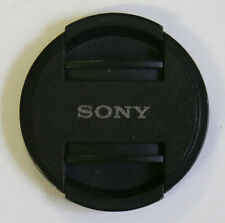 Sony 49mm Front Lens Cap, Inside Snap, Black