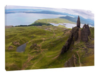 Storr, Isle of Skye Print, (8)  canvas print or black framed print