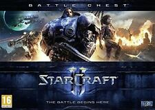 Starcraft II 2 Battle Chest Includes Heart of The Swarm PC DVD