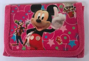 FABULOUS DISNEY MICKEY MOUSE WALLET/PURSE BRAND NEW -IDEAL FOR SCHOOL