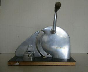 Brotschneidemaschine von Alexanderwerk, Handkurbel, 50er Jahre, Orignal Vintage
