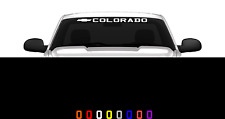 "Colorado 36"" Front Windshield Window Banner Decal Sticker Chevrolet Z71 z71"
