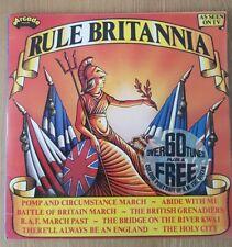 Rule Britannia Double Arcade Vinyl LP-Queen Elizabeth ll 1977 Silver Jubilee
