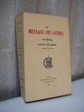 ASTROLOGIE / Heindel : le message des astres Chacornac 1939