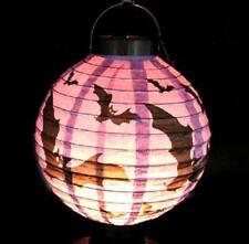 FD2804 Halloween X'mas LED Paper Hanging Lantern DIY Scary Party Bats Decoration