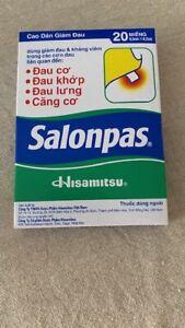 Salonpas patchs anti douleurs