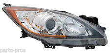 New Replacement Halogen Headlight Assembly RH / FOR 2010-2011 MAZDA 3