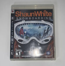 Shaun White Snowboarding Sony PlayStation 3 PS3 Game **Tested** 2008