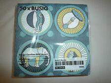 Ikea Servietten 50 Stück BUSIG 33 x 33 NEU