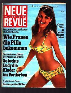 Neue Revue Nr. 11 17.3.1968 L. Taylor, V. Torriani, Dutschke, MB 300SEL/6,3,Rigg