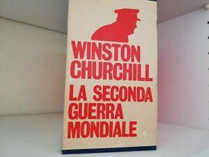 WINSTON CHURCHILL - LA SECONDA GUERRA MONDIALE - 12 VOL. - Oscar Mondadori