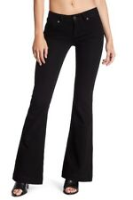 DL1961 Women's Black Onyx Joy Super High Rise Flare Leg Jean Size 26