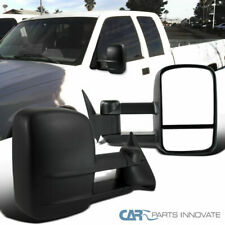 For 88-98 Chevy GMC C10 C/K Tahoe Suburban Telescoping Tow Side Mirrors Manual