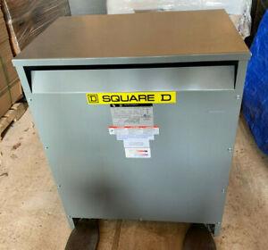 EE75T3H Sqaure D 75 KVA 480X208/120V 3 Phase Dry Type Transformer 480V 208/120V