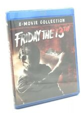 Friday the 13th: 8-Movie Collection (Blu-ray Disc, 2018; 6-Disc Set) NEW