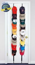 Rack Wall Hook Baseball Cap Hat Hanger Holder Closet Door Coat Organizer Storage