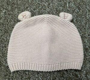 Girls Baby Gap Beanie Hat Light Pink 18-24 Months