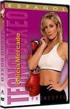 Tecno Boxeo Avanzado DVD 2003 Spanish Felicia Mercado NEW