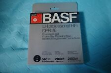 BASF DPR26 F LH SUPER MAGNETIC TAPE 640m NEU