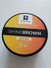 BYROKKO Shine Brown 190 ML Tanning Cream 100% Original NEW Worldwide