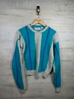 vtg 80s crazy Cosby britches   Wool sweatshirt sweater jumper refCosby large