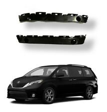 Primed Front Bumper Cover Support For Sienna 04-10 Driver//LH Side Plastic