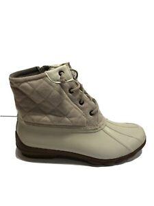 Sperry Syren Gulf Womens Duck Boots Oat US11 M