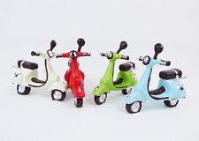 Pz 4 Scooter Colorato 8 cm ass in resina oggettistica per bomboniere fai da te