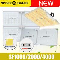 SF 1000W 2000W 4000W LED Grow light Sunlike Full Spectrum Veg Bloom All Stages