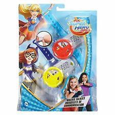 DC Super Hero Girls DNH03 Walkie Talkie Bracelets, Set of 2