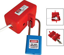 LOCKOUT DEVICE PLUG & HOSE - SMALL ( LOCK NOT INCLUDED )