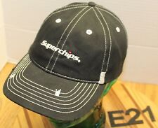NWOT SUPERCHIPS VEHICLE ACCESSORIES INTAKES HAT BLACK STRAPBACK NEVER WORN E21