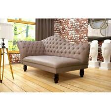 Chaiselongues Chesterfield Liege Ottomane Chaise Sofa Couch - Polster HARTFORD