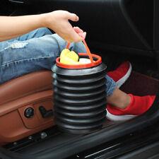 Foldable Car Trash Bin Can Rubbish Gargage Storage Bucket Organizer HolderNewly.