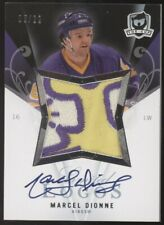 2007-08 UD The Cup Marcel Dionne Kings Limited Logos Patch Auto 5/22