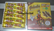 24 PACK GOLECHA RED  INSTANT HENNA CONE  TEMPORARY BODY ART TATTOO  24 CONE
