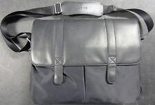 """New! Genuine Cole Haan Messenger Bag Black 15.6"""" Laptop Bag - CHRM11099 - ("""