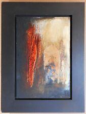 Doorway. Original Abstract Oil by listed artist Zahura Sultana Hoosain 2002