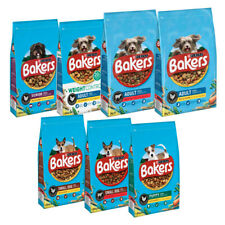 More details for bakers adult dry dog food, puppy, senior weight loss food - chicken, beef 2.85kg