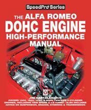 Alfa Romeo DOHC High-performance Manual (SpeedPro) book paper