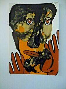Gerard Sendrey France Artist  1996 Visage