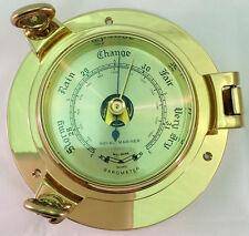 Brass Barometer Porthole by Royal Mariner