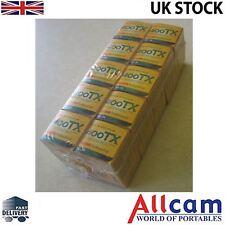 10 paquetes: Kodak TRI-X 400 Tx 35mm 36 exposiciones ISO400 B&w Film