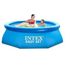 Intex Pool 8ft X 30in Easy Set Pool Set with Filter Pump